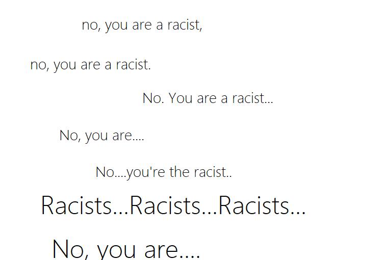 Ancestors Race –Poem