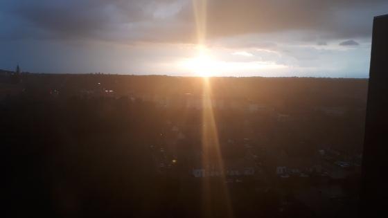 sunset July 2020