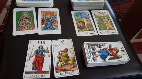 tarot card swap