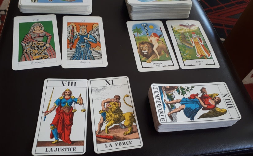 The Terrible Trouble with Tarot –Poem